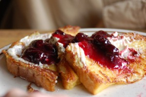 Marion berry french toast
