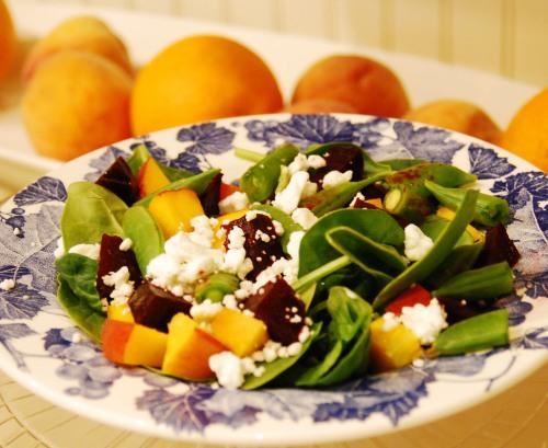 Roasted Beet Summer Salad
