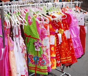 2011 La Jolla Open Aire Market - Little Girl's Dresses