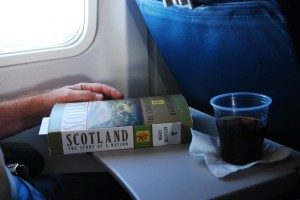 Learning about Scotland on the way there