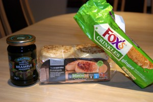 Crumpets, Cookies and Bramble Preserves