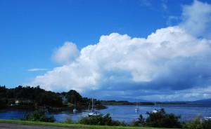 Coast near Oban Scotland