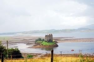 Low tide near Oban Scotland