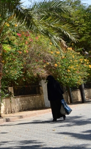 Woman in black -Jericho, Israel