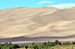 2012.07 People Hiking on the Dunes at Great Sand Dunes National Park Colorado