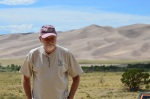 2012.07 Terry at Great Sand Dunes National Park Colorado