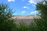 2012.07 View from the Campground at Great Sand Dunes National Park Colorado