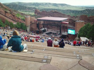 2012 Red Rocks View from the top
