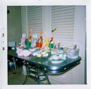 1965.04 Easter Perkins kitchen table