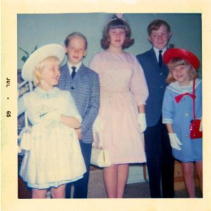1965 All Dressed up for Easter