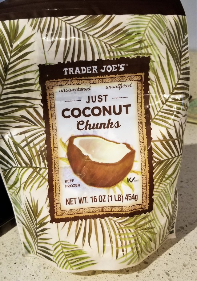 Coconut product from Trader Joes