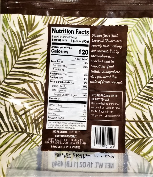 Coconut Trader Joes